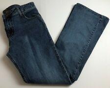 LEI Women's Flare Jeans Junior's Sz 9 Medium Wash Zip Up 5 Pockets Belt Loops