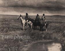 1900/72 EDWARD CURTIS Folio Size NATIVE AMERICAN INDIAN Chiefs Montana Photo Art