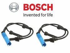 For BMW E60 E63 E64 Set Pair of Front Left & Right ABS Wheel Speed Sensors Bosch