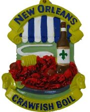 New Orleans Crawfish Boil Christmas ORNAMENT favor holiday cajun gift souvenir