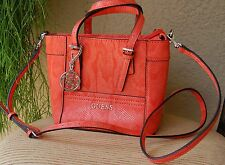 NWT Beautiful Guess Delaney Mini Crossbody Handbag Color Sunset