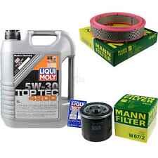 Inspection Kit Filter LIQUI MOLY Oil 5L 5W-30 for Suzuki Alto HA11 1.0