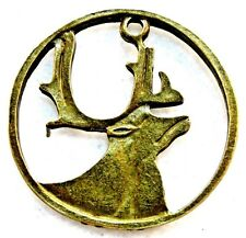 6pcs Antiqued Bronze Alloy Big Antler Charms Pendants Jewelry Findings 31432