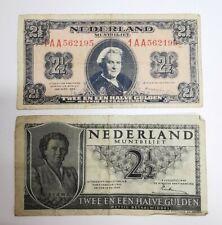 Lot 2 Billets Pays-Bas. REF60580