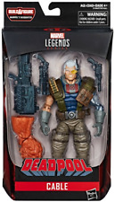 MARVEL LEGENDS DEADPOOL SERIES 90's CABLE ACTION FIGURE BAF SASQUATCH