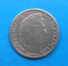 Louis-Philippe 50 centimes argent 1846 A Paris