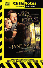 """Bronte's """"Jane Eyre"""" Cliffsnotes Ultimate Study Guide with DVD Movie and Book"""