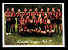 Eintracht Frankfurt Mannschaftskarte 1969-70