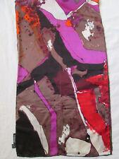 - Écharpe PASSIGATTI  soie  vintage Scarf  50 x 180 cm