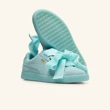 PUMA SUEDE HEART RESET ARUBA BLUE BRAND NEW UK 6