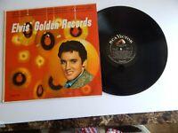ELVIS  GOLDEN RECORDS.- RARE ORIGINAL LPM-1707/ RCA.