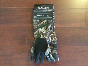 """NWT $35 Allen Waterproof Decoy Gloves 18"""" Neoprene Realtree MAX5 Camo Duck Hunt"""
