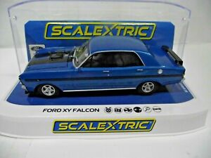 Scalextric C4171 1:32 FORD XY FALCON - GTHO PHASE III - Electric Blue Slot Car