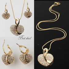 Crystal Gold Stone Costume Necklaces & Pendants