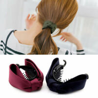 New Colorful Cloth Ponytail Ties Headband Hair Clips Hair Claw Big Bows