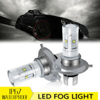 H7 Fog Light LED Headlight Conversion 2PCs Cool White Front Bulb Lamp For Sonata