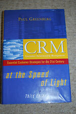 PAUL GREENBERG : CRM at the Speed of Light // customer relationship management