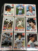 22 Card Boston Red Sox Coca-Cola Brighams Yaz, Jim Rice, Eck + More *PL1