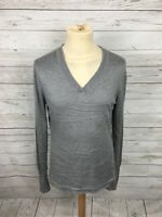 Men's Austin Reed Jumper - Large - Grey - Cashmere Blend - Great Condition