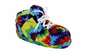 Happy Feet Mens and Womens Standard Sneaker Slippers