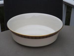 """Lenox Tudor Round Vegetable Serving Bowl 9 3/8"""" Excellent Condition"""
