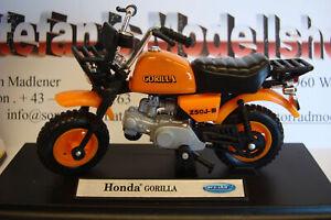 Honda Gorilla orange   1:18 Welly