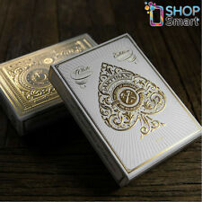 ARTISANS THEORY 11 PLAYING CARDS DECK GOLD WHITE MAGIC TRICKS SEALED USA NEW