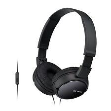 Auriculares TIPO CASCOS SONY MDR-ZX110AP con control en línea-Negro-Nuevo