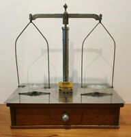 Antique Early 20th Century Pharmaceutical Scales (Apothecary Medicine 1920's)