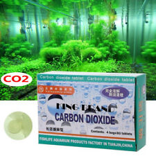 80Pcs Aquarium CO2 Tablet Carbon Dioxide For Plants Fish Tank Aquatic Diffuse Ww