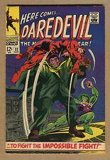 Daredevil #32- To Fight The Impossible Fight! - 1967 (Grade 6.5) WH