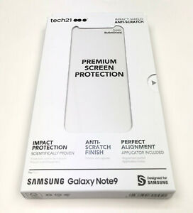 Tech21 Impact Shield BulletShield Screen Protector AntiScratch for Samsung Note9