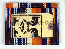 new woven OBEY PROPAGANDA San Juan mens slim card ID window mini wallet gift