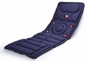 Full Body Massager Cushion Mattress. 8 Vibrating Modes. Heating. Best Seller!