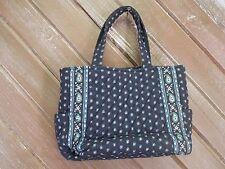 Vera Bradley Handbag Navy Blue EUC