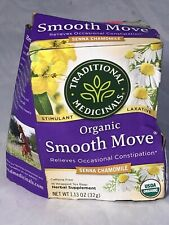 Traditional Medicinals Organic Smooth Move Chamomile Tea 16 Ct NEW