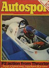 AUTOSPORT 15th APRILE 1982 * THRUXTON F2 & F3 & Racing *
