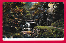 Unposted card. Rigg Mill, Whitby, Yorkshire.