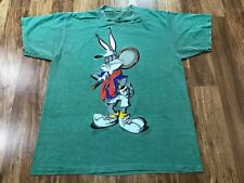 New listing Large - Vtg 1995 Looney Tunes Bugs Bunny Tennis Player Single Stitch 90s T-shirt