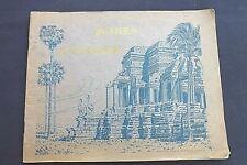 Ruines d' ANGKOR - Photo Nadal, Saïgon 28 gravures vers 1930 Réf 223
