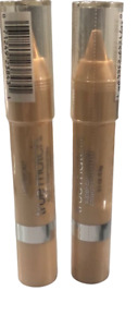 2X L'Oreal true match super-blendable crayon concealer (fair/light) 0.1oz/2.8g