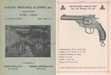 Garate Trocaola & Lemes Inc, Firearms c1920 (New York & Spain)