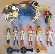 1984 WEP Voltron Figures Lot - Keith, Lance, Pidge, Hulk, Aurora, Blue Lion, Key
