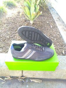 Hugo Boss men Casual Shoes Stiven Charcoal Size 8 US