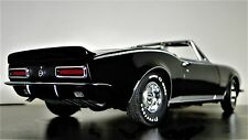 1 Camaro 1967 SS RS Chevy 18 Sport 24 Race Car 64 Vintage 43 Carousel Black 12