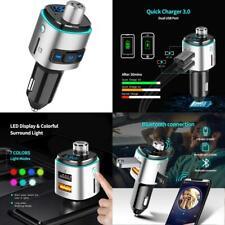 Bluetooth FM Transmitter Radio Transmitter Handsfree Car Kit Car Audio Adapter Q