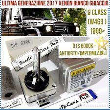 2 Lampadine XENON D1S MERCEDES CLASS G W463 99> BIXENO 6000K HID RICAMBIO Luci