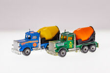 Matchbox Cement Trucks Lot of 2 Diecast Car
