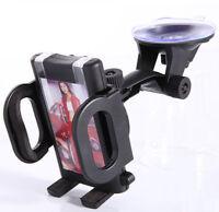 360° Car Windshield Mount Bracket Holder for Mobile Phone GPS Samsung Interior