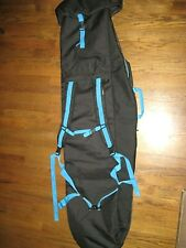 """Lightly used padded RIDE SNOWBOARDS Bindings/Case Backpack- 60"""" L 18"""" W"""